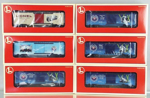 20: 6 LIONEL FREIGHT CARS