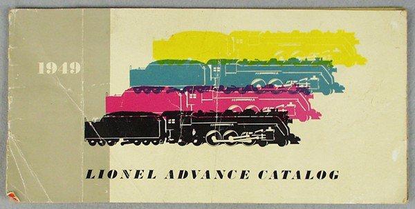 23: LIONEL 1949 ADVANCE CATALOG
