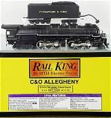 186 MTH RAIL KING CO ALLEGHANY LOCO  TENDER