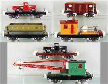 258 6 MTH LIONEL FREIGHT CARS