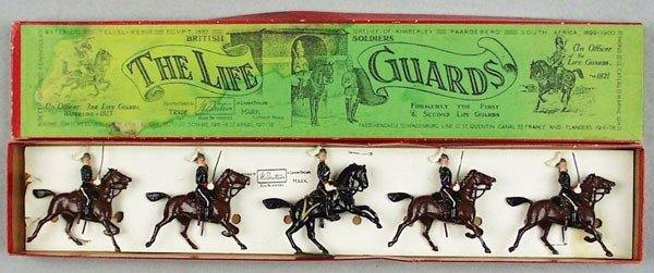 3: BRITAINS SET 1 THE LIFE GUARDS