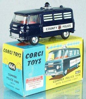5: CORGI 464 COMMER POLICE VAN