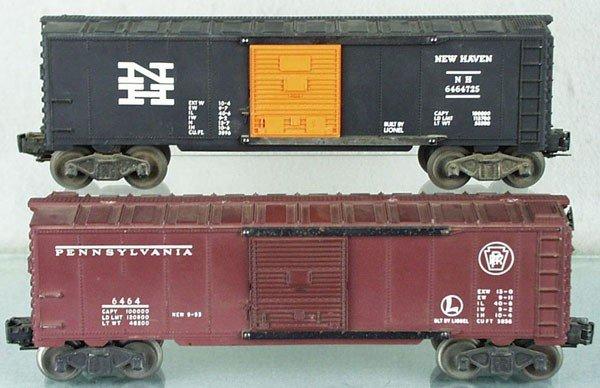 2: 2 LIONEL 6464 BOX CARS