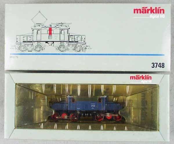 5: MARKLIN 3748 GERMAN ELECTRIC LOCO