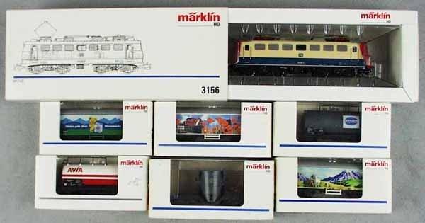7: MARKLIN TRAIN SET