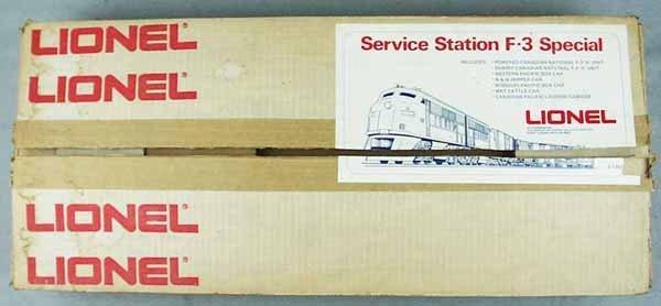 20: LIONEL 1350 SERVICE STATION SET