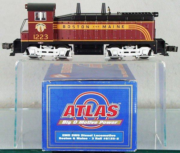 21: ATLAS & WILLIAMS B&M TRAIN SET