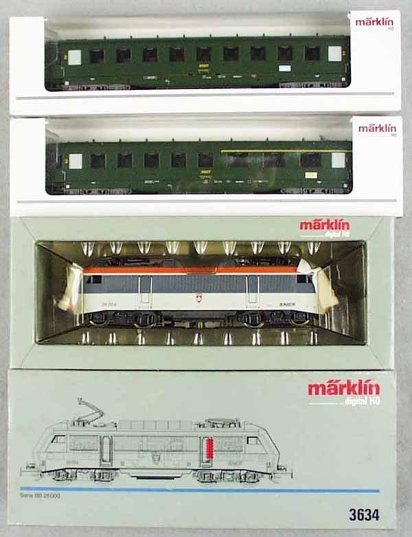 24: MARKLIN TRAIN SET