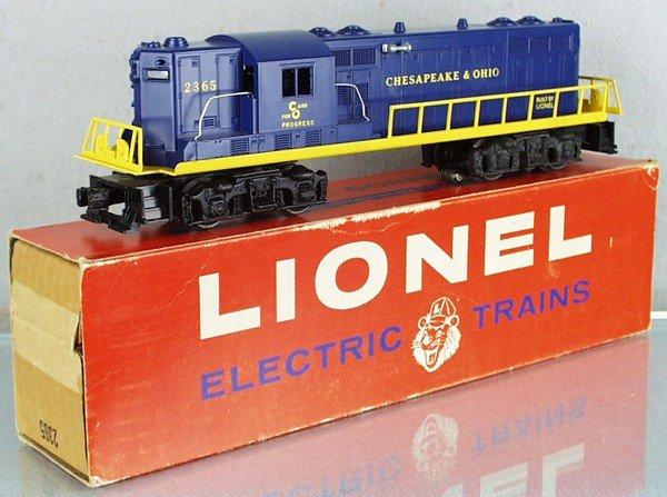 485: LIONEL 2365 C&O GP DIESEL