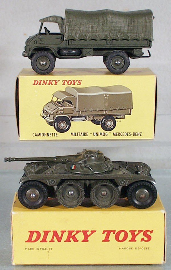 6: 2 DINKY MILITARY VEHICLES