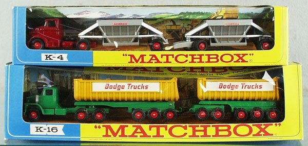 10: 2 MATCHBOX KINGSIZE VEHICLES