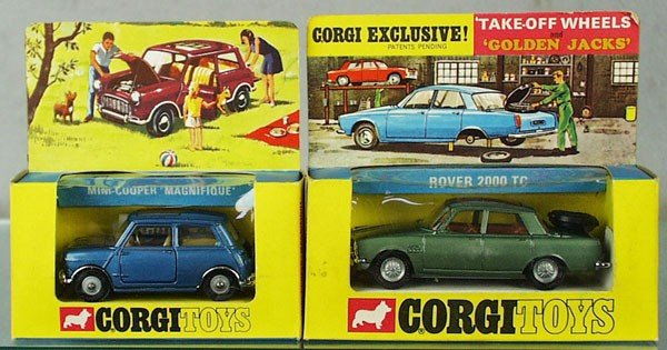 16: 2 CORGI VEHICLES
