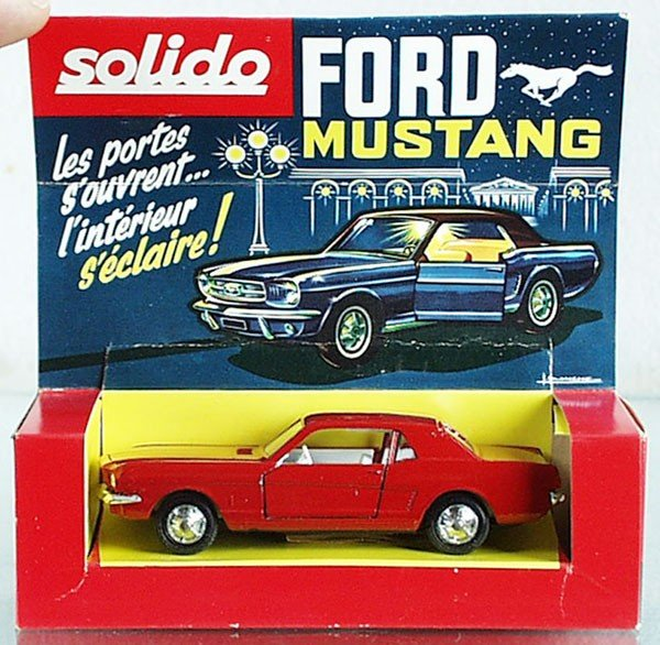 17: SOLIDO 147 FORD MUSTANG COUPE