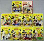 136 10 MATCHBOX DISNEY  POPEYE VEHICLES