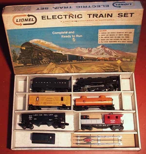 1005: LIONEL 11550 TRAIN SET