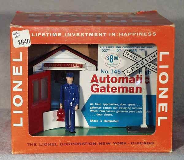 1009: LIONEL 145 AUTOMATIC GATEMAN