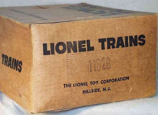 1011: LIONEL 11620 TRAIN SET