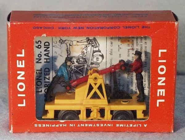 1016: LIONEL 65 MOTORIZED HANDCAR