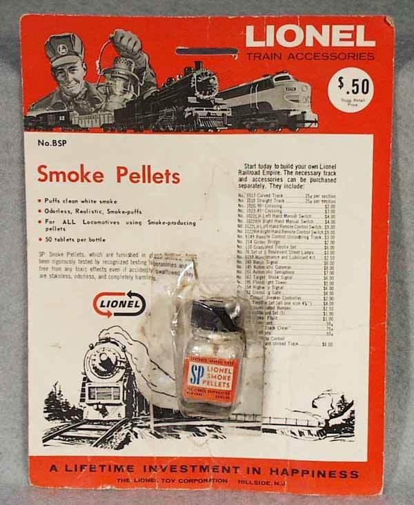 1017: LIONEL No. BSP SMOKE PELLETS