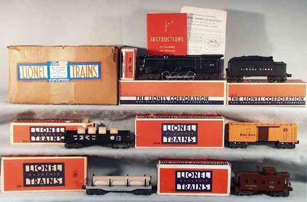 1360: LIONEL 2125WS TRAIN SET