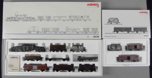 3: MARKLIN SWISS TRAIN SET