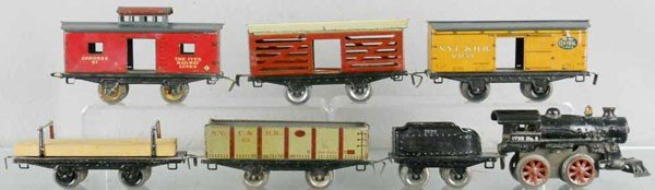 5: IVES TRAIN SET