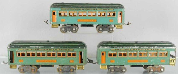 76: 3 IVES CARS