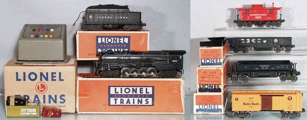 87: LIONEL 4109WS ELECTRONIC SET