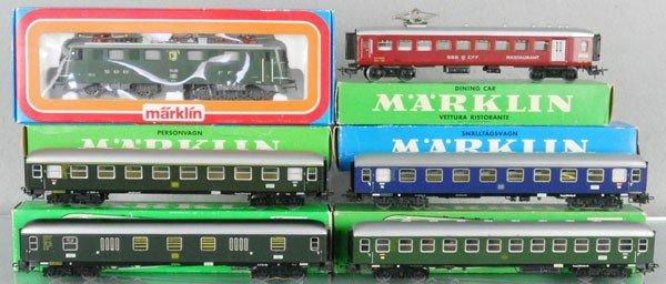 92: MARKLIN TRAIN SET
