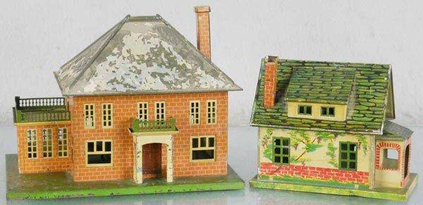 147: 2 LIONEL HOUSES