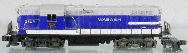 162: LIONEL 2339 WABASH GP DIESEL