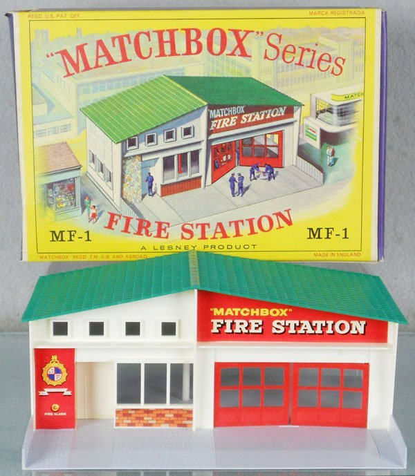 9: MATCHBOX MF1A1 FIRE STATION