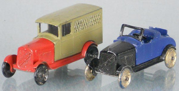 11: 2 TOOTSIETOY GM SERIES VEHICLES
