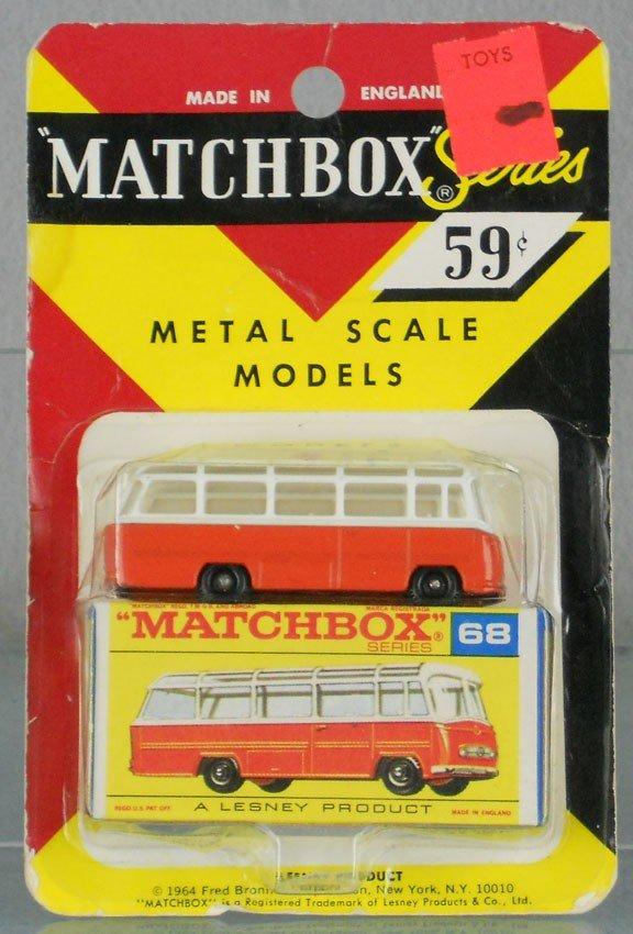 25: MATCHBOX 68B2 MERCEDES COACH
