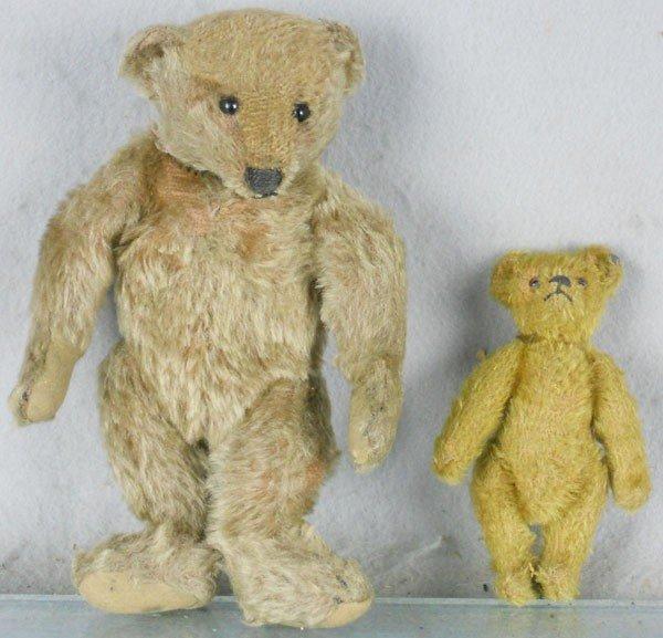 45: 2 STEIFF TEDDY BEARS