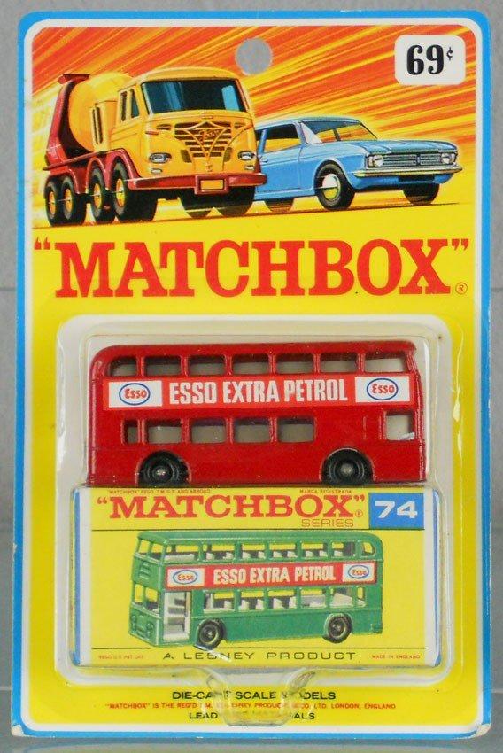 90: MATCHBOX 74B4 ESSO DAIMLER BUS