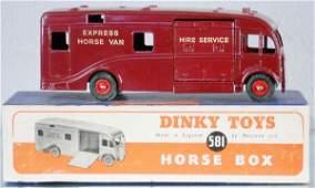 433 DINKY 581 HORSE BOX