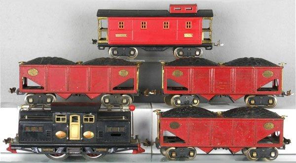 1: LIONEL COAL TRAIN SET