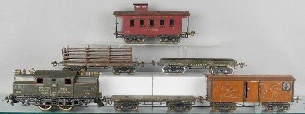 7: IVES TRAIN SET