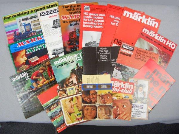 9: MARKLIN PAPER LOT