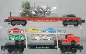 2 AMERICAN FLYER FREIGHT CARS