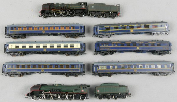 129: JOUEF & HORNBY ORIENT EXPRESS LOT