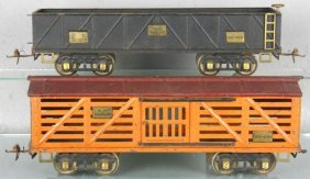 2 IVES FREIGHT CARS