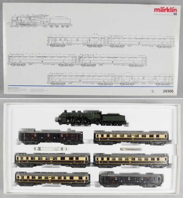 169: MARKLIN 28506 RHEINGOLD TRAIN SET