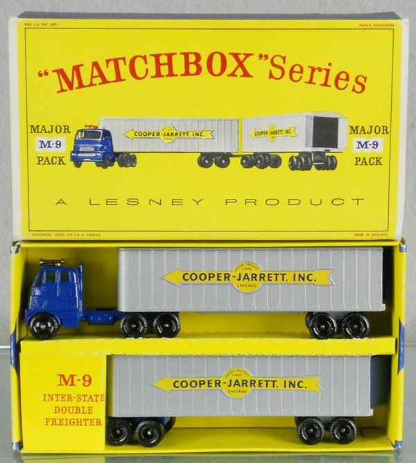 7: MATCHBOX M9A4 INTER-STATE SET
