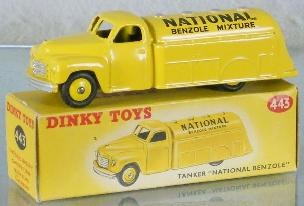 18: DINKY 443 NATIONAL BENZOLE TANKER
