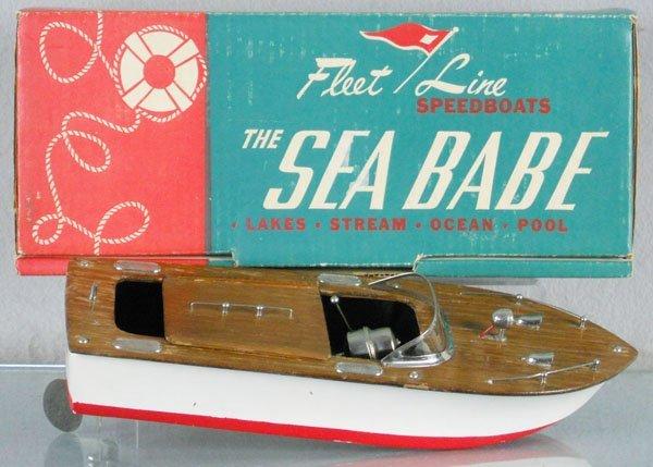 193: FLEET LINE 200 SEA BABE SPEED BOAT