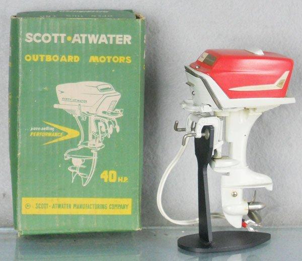 194: K&O SCOTT ATWATER 40HP OUTBOARD MOTOR
