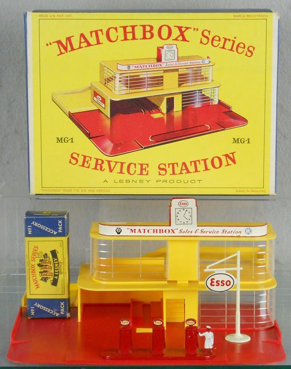 202: MATCHBOX MG1-B1 SERVICE STATION