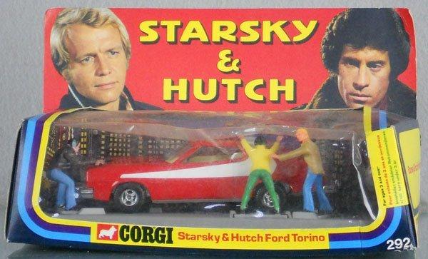 204: CORGI 292 STARSKY & HUTCH FORD TORINO